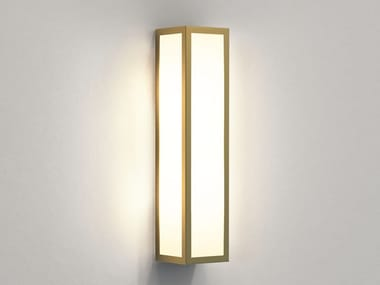 LED outdoor wall light made of brass and glass SALERNO | Outdoor wall Lamp
