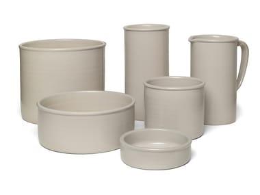 Porcelain stoneware bowl SALINA