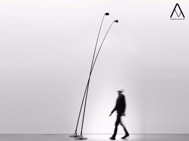 Halogen adjustable floor lamp with dimmer SAMPEI