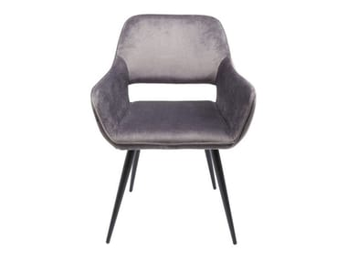 Fabric chair with armrests SAN FRANCISCO | Chair