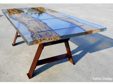Rectangular coffee table SAN MARCO | Resin coffee table