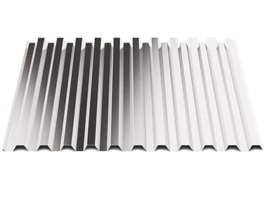 Corrugated and undulated sheet steel SAND20
