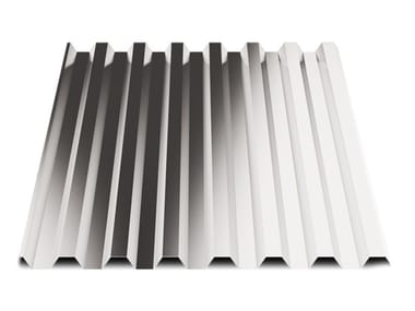 Corrugated and undulated sheet steel SAND28