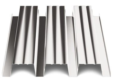 Corrugated and undulated sheet steel SANDA75 P570 CLS