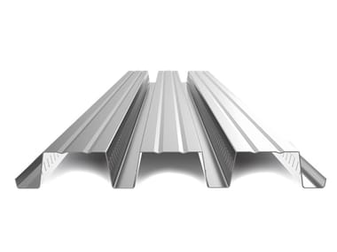 Corrugated and undulated sheet steel SANDA75 P760 CLS