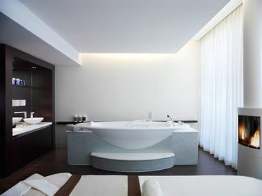 Vasca da bagno idromassaggio ovale SANOSPA | Vasca da bagno idromassaggio