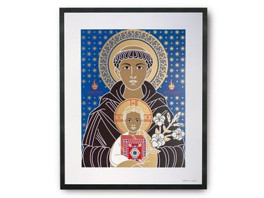 Coated paper Print on paper SAINT ANTONIO | Print on paper