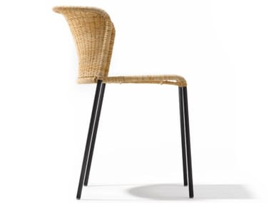Rattan chair with armrests SANTA LUCIA