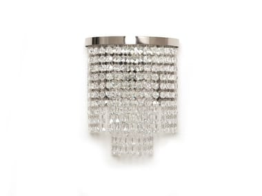 Wall light with crystals SANTENA | Wall light