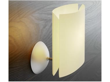 Polycarbonate wall light SARA   Wall light