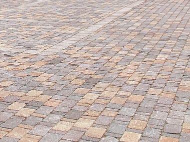 Concrete paving block SASSI COMP