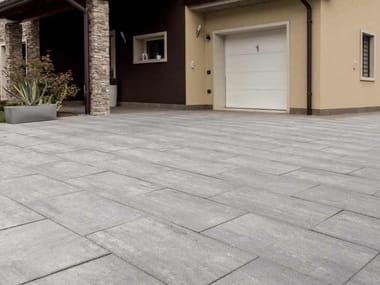 Concrete outdoor floor tiles SASSLONG®