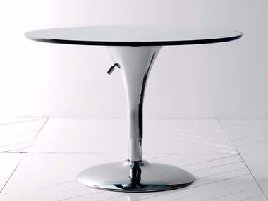 Height Adjustable Round Coffee Table SATELLITE