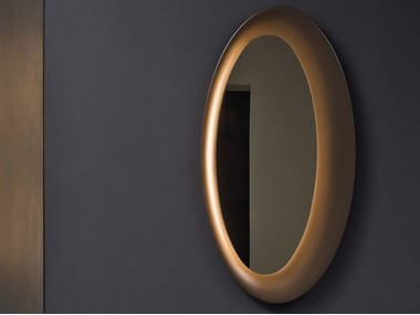 Mirror with integrated lighting SATURNO