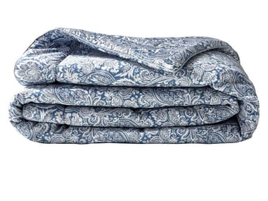 Damask reversible cotton bedspread SAUVAGE | Bedspread