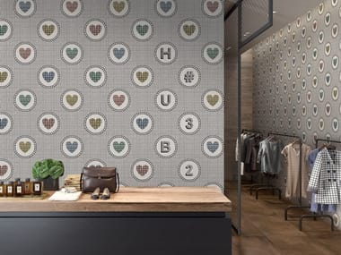 Porcelain stoneware wall tiles SAY IT WITH FLOWERS