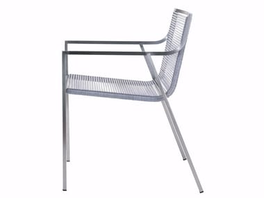 Garden chair with armrests SB01 | Chair with armrests