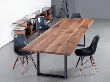 Rechteckiger Tisch aus massivem Holz SC 25 | Tisch aus Holz