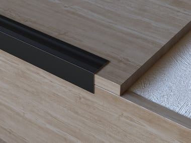 Profilé de protection des marches en aluminium SCALA