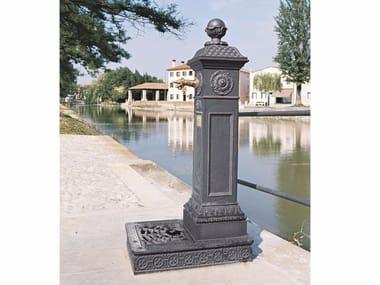 Fontana da giardino in ghisa SCILLA | Fontana da giardino