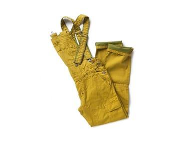 Pantalone in tessuto armaturato SCOOP OCRA