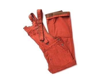 Pantalone in tessuto armaturato SCOOP TOMATO