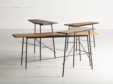 Walnut high side table SCRAP