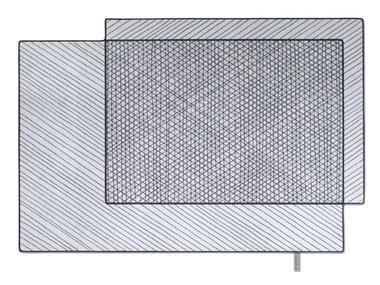 Teppich aus Wolle SCRIBBLED 001