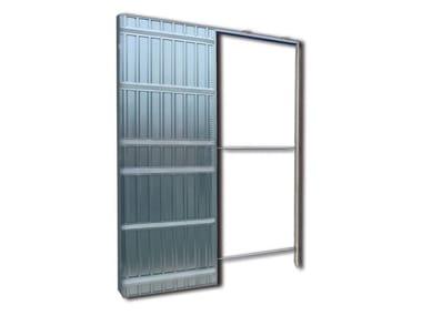 Controtelaio singolo per cartongesso per parete finita/orditura 100/75 SCRIGNOTECH |Controtelaio singolo per cartongesso 100/75