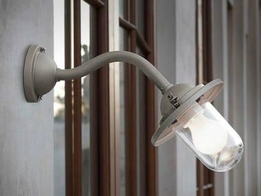 Lampada da parete in ferro con braccio fisso SCUDERIA | Lampada da parete con braccio fisso
