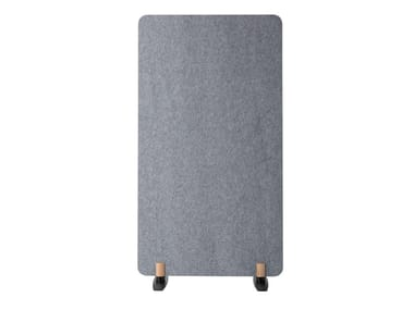Sound absorbing free standing workstation screen SCULPO | Free standing workstation screen