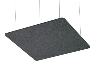Hanging acoustical panel SCULPO | Hanging acoustical panel