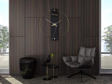 Relógio de metal de parede SCULTOREO