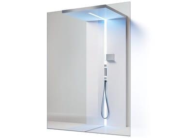 Rectangular glass Walk in shower SCURETTO Walk Through