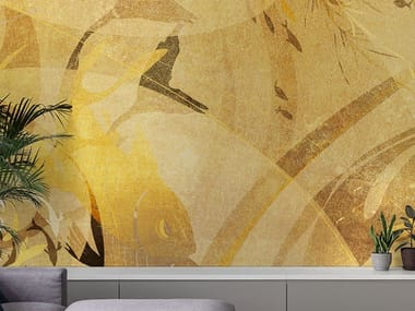 Oriental wallpaper, eco-friendly, PVC free and washable SEA ME