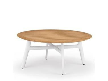 Round teak coffee table SEAX | Teak coffee table