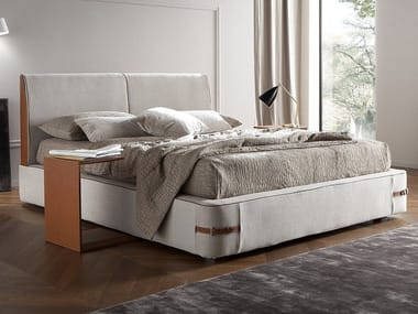 Letto King Size.Fabric Bed With Removable Cover Sebastian By Chaarme Letti