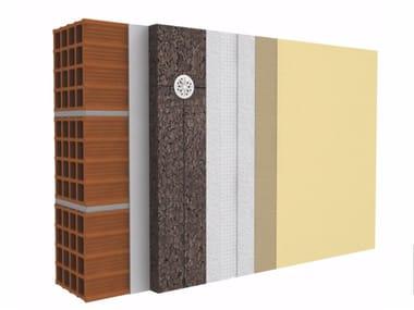 Exterior insulation system SECILVIT CORK