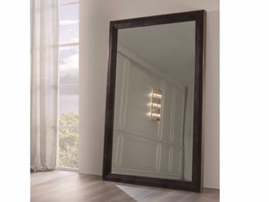 Freestanding rectangular framed mirror SECRET