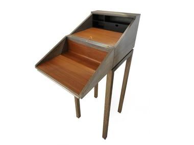 Oak secretary desk with drawers SECRETARY | Secretary desk