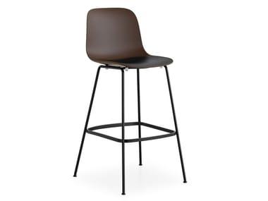 High garden stool with footrest SEELA OUTDOOR | High stool