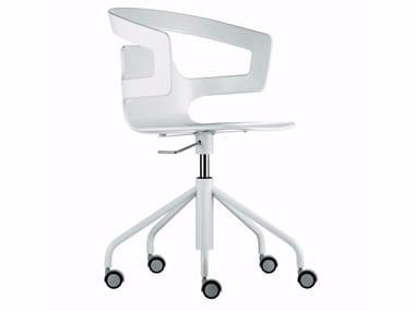 Cadeira giratória de 5 raios com rodízios SEGESTA STUDIO - 508