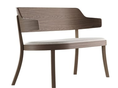 Solid Wood Indoor Benches With Back Archiproducts