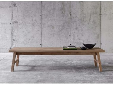 Solid wood bench SELVAPIANA