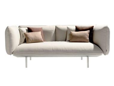 2 seater fabric garden sofa SENJA | Garden sofa