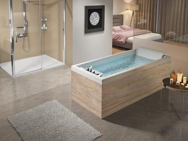Rectangular bathtub SENSE 4