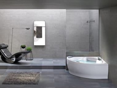Corner bathtub SENSE 7 Z1