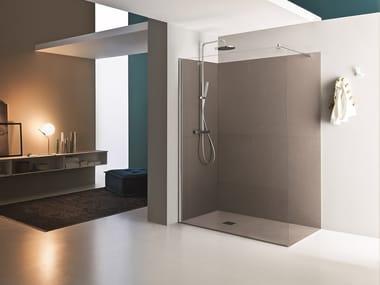 Corner rectangular Walk in shower SEPARET DEDALO | Corner Walk in shower