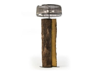 Briccola wood floor lamp SERENA