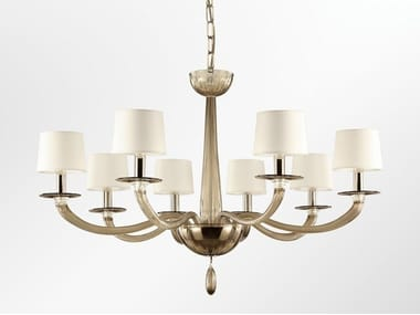 Murano glass chandelier SERENADE